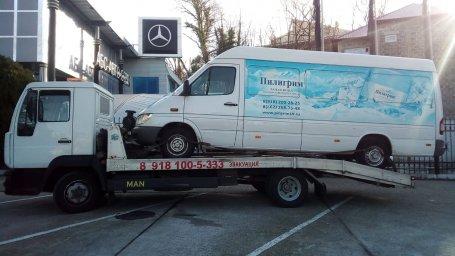 Найти эвакуатор в Сочи