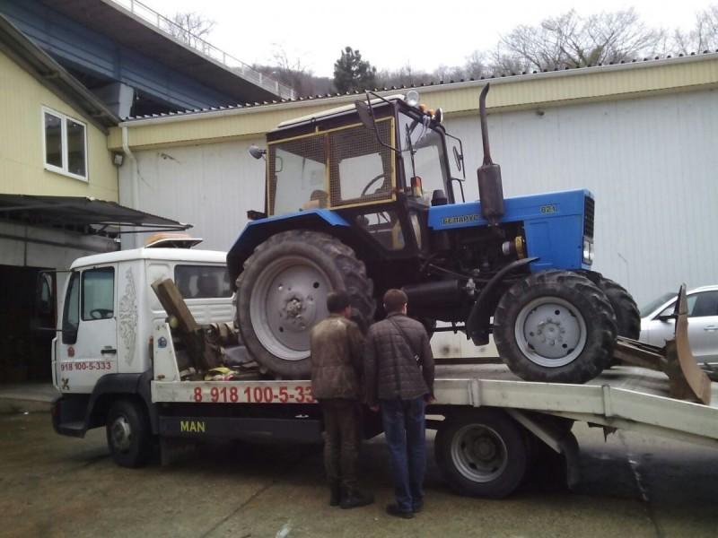 Эвакуатор тракторов